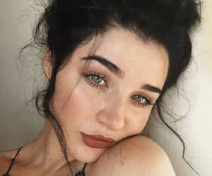 beauty, girl, and freckles image