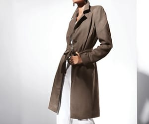 mode and trenchcoat image