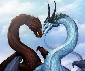 dragon and love image