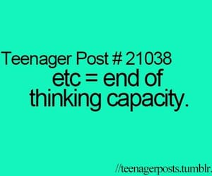 funny, etc, and teenager post image