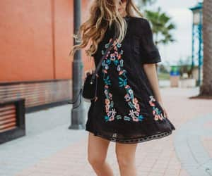 ankleboots, chic, and dress image