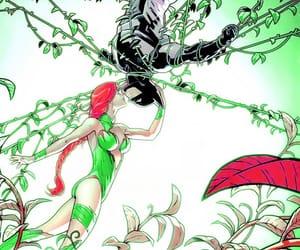 batman, bruce wayne, and poison ivy image