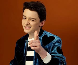 stranger things and noah schnapp image