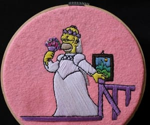 beauty, bride, and embroidery image