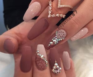 aesthetic, nails, and naildesigns image