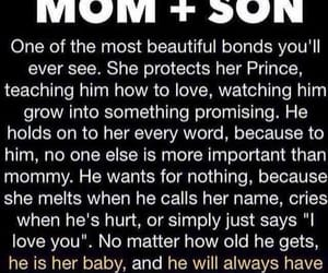 love, quotes, and son image