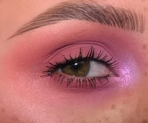 pink, eyeshadow, and makeup image