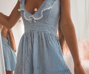 blue and white, fashion, and goals image