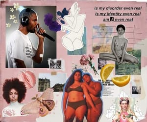 art, Collage, and melanin image