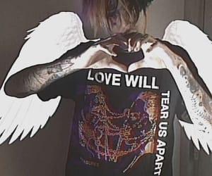 lil peep, aesthetic, and tattoo image
