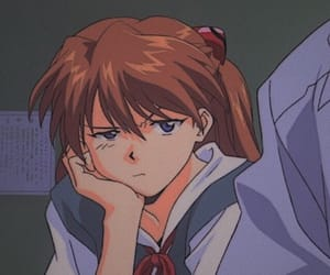 anime, Neon Genesis Evangelion, and asuka langley image