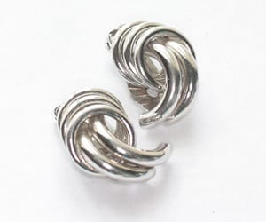 etsy, vintage earrings, and mid century jewelry image