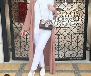 fashion, model, and muslim image