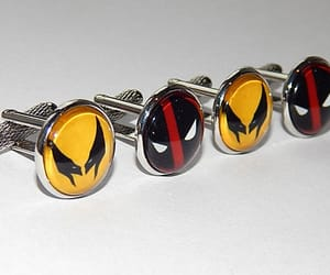 etsy, superhero cufflinks, and superhero jewelry image