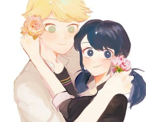 Adrien, adrien agreste, and marinette dupain-cheng image