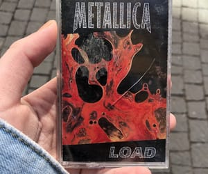 cassette, load, and metallica image