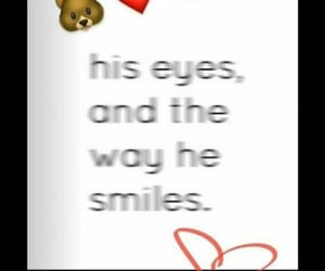 his smile, his eyes, and ❤ image