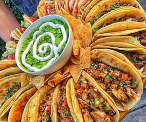 food, mexican, and taco image