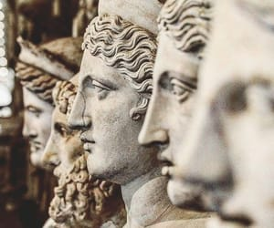 face, statues, and aesthetic image