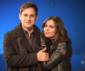 once upon a time, regina mills, and henry mills image