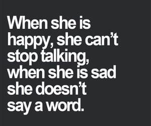 sad, happy, and girl image