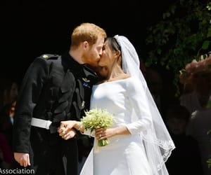 the royals, royal wedding, and harry and meghan image