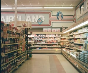 aesthetic, store, and vintage image