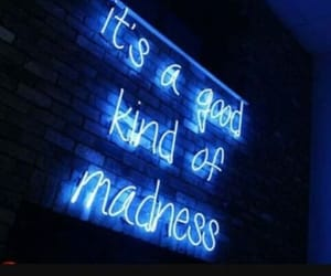 neon, neon lights, and quotes image