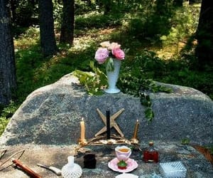 altar, wiccan, and pagan image