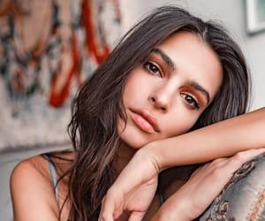 brunette, girl, and model image