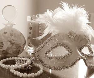 mask, masquerade, and white image