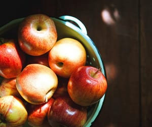 apples, food, and healthy image