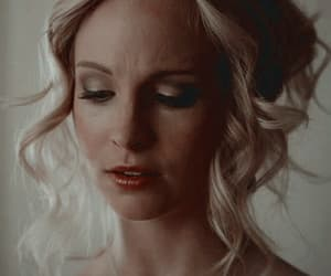 candice accola and caroline forbes image