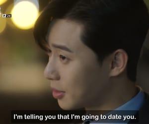 couple, Korean Drama, and subs image