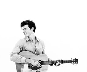 shawn mendes, boy, and guitar image