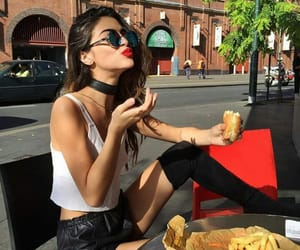 food, beauty, and outfit image
