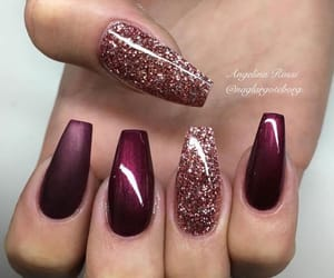 maroon, reds, and sparkle image