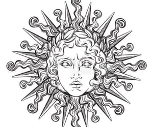 god, greek, and head image