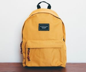 backpack and yellow image