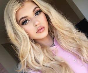 blonde, gray, and loren image