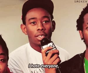 gif, hate, and tyler the creator image