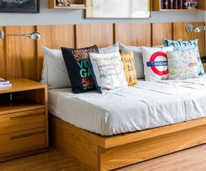 bed, modern, and moderno image