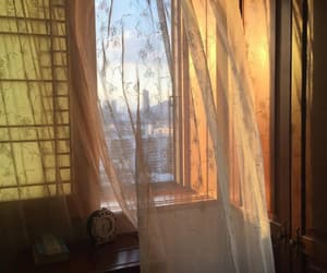 window and morning image