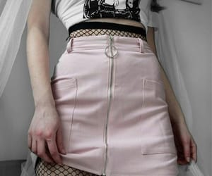 fashion, grunge, and pink image