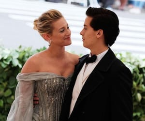 cole sprouse, lili, and met gala 2018 image