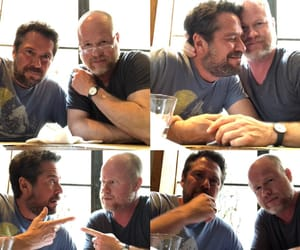 Joss Whedon and alexis denisof image