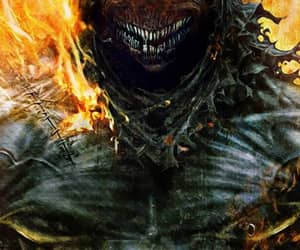 disturbed, fire, and metal image
