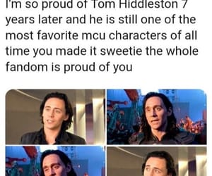 Marvel, tom hiddleston, and twitter image
