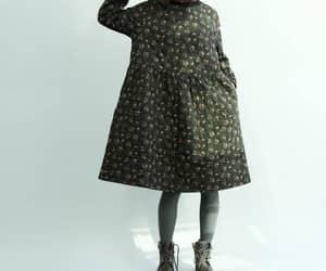 blackdress, floraldress, and maternitydress image