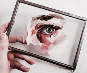 art, eye, and look image